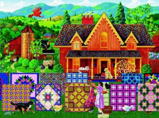 product image for Morning Day Quilt 1000 pc Jigsaw Puzzle by SunsOut