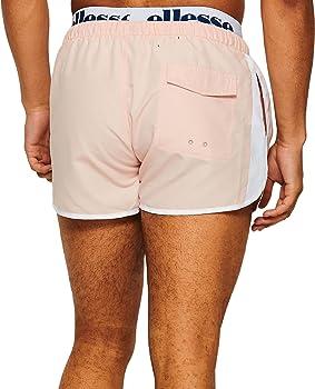 Ellesse de los Hombres Nasello Swim Shorts, Rosado, XL