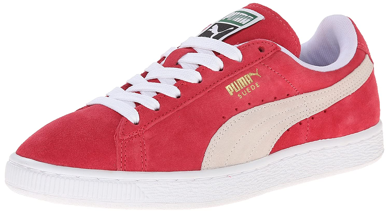 PUMA Women's Suede Classic Sneaker B00LUKCLW4 7.5 M US|Geranium