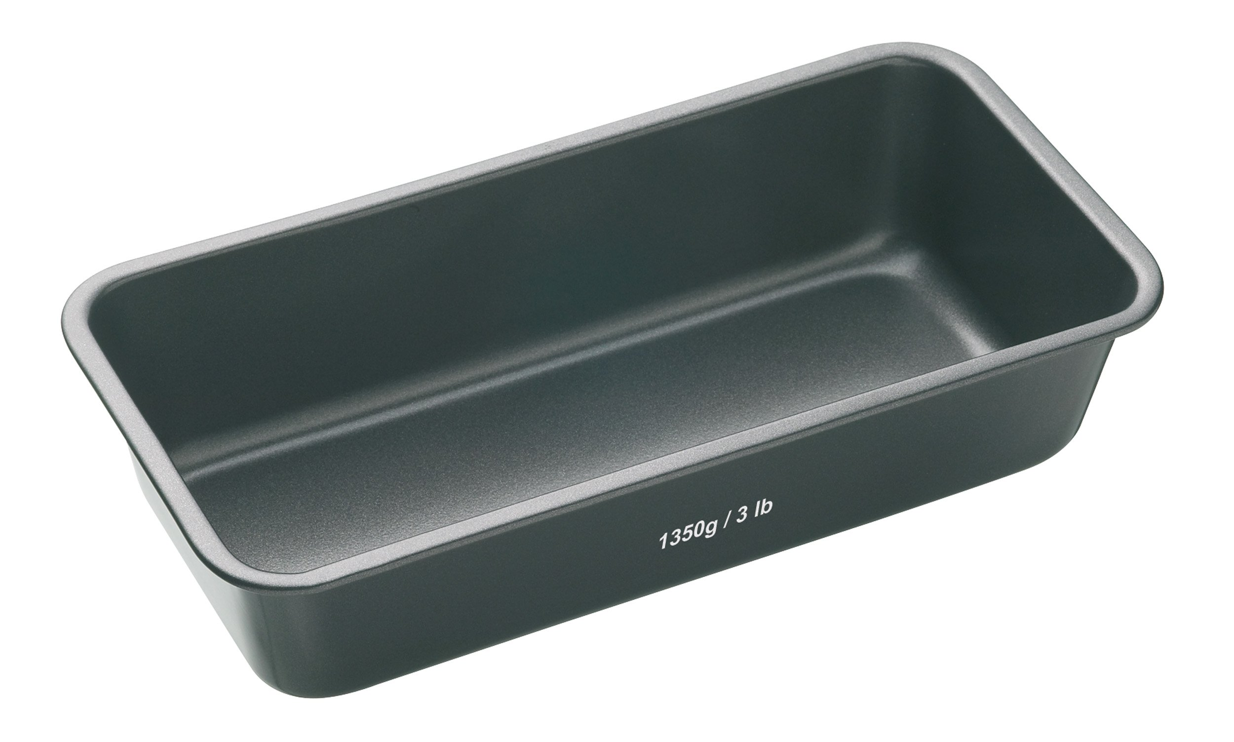 Kitchen Craft Molde Rectangular, Acero, Negro, 28 x 13 cm product image