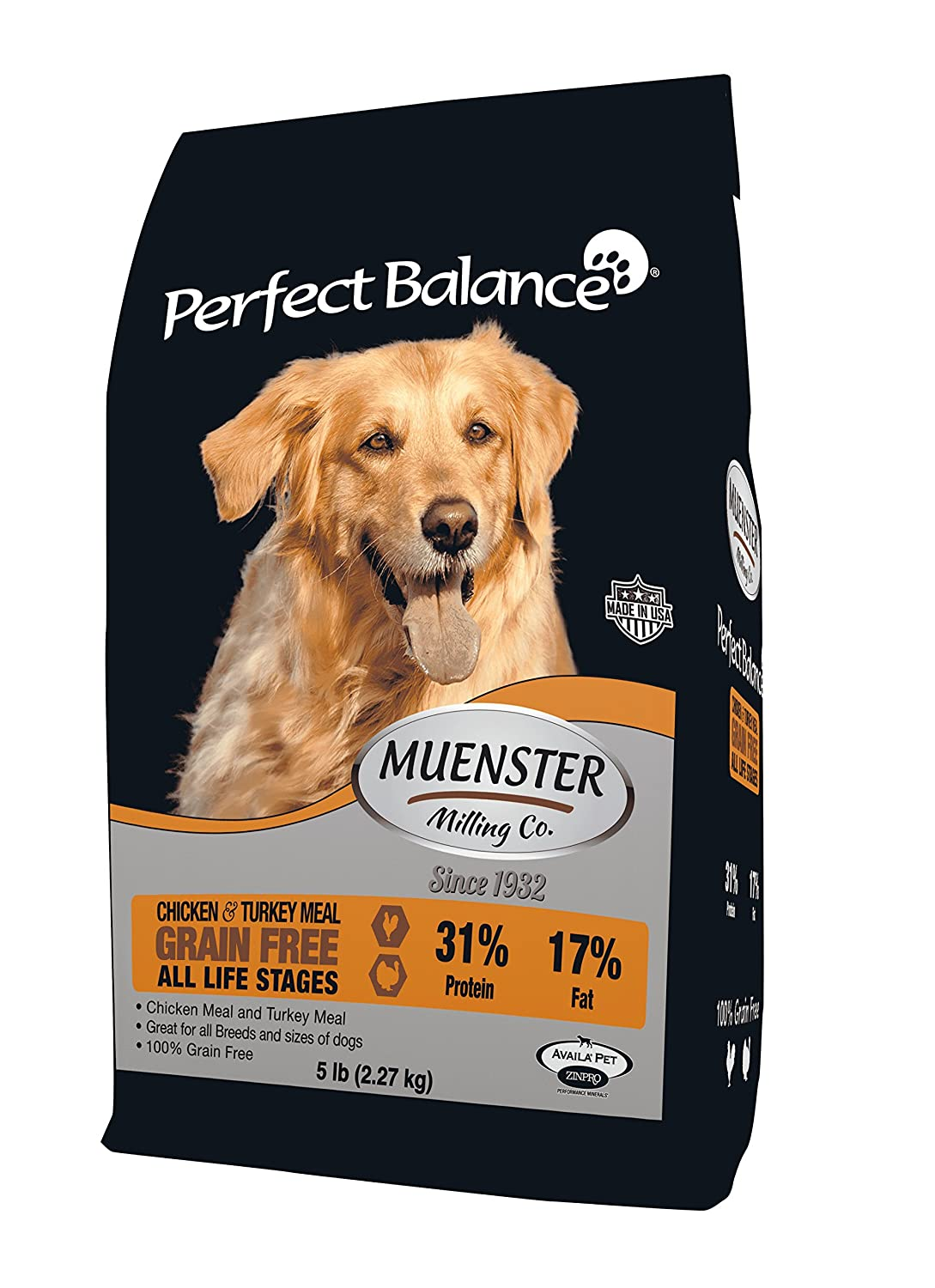 Muenster Milling Co. Perfect Balance Grain Free Dog Food