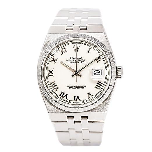 Rolex Datejust cuarzo Mens Reloj 17014 (Certificado) de segunda mano: Rolex: Amazon.es: Relojes