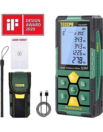 Metro Laser niveau laser compteur Laser avec 2/bulles noir et orange Tacklife hd-60/m classique T/él/ém/ètre avec grand /écran r/étro-/éclair/é