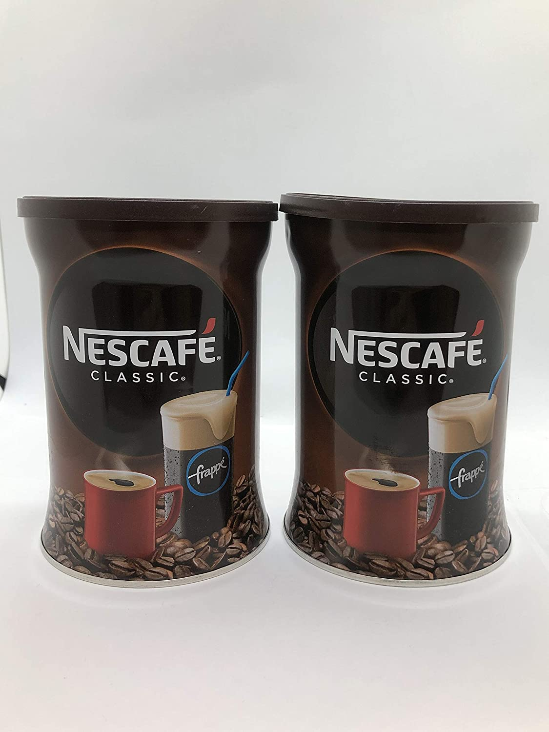 Nescafe Café Instantáneo 200 g (2pack) Total 400 g: Amazon ...
