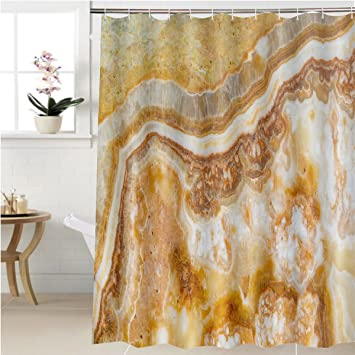 Gzhihine Shower Curtain Piece Of Polished Agate Bathroom Accessories 54 X 78 Inches