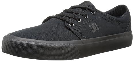 926b14ba95556 DC Men's Trase TX Skate Shoe, Black/Black/Black, 12.5 M US
