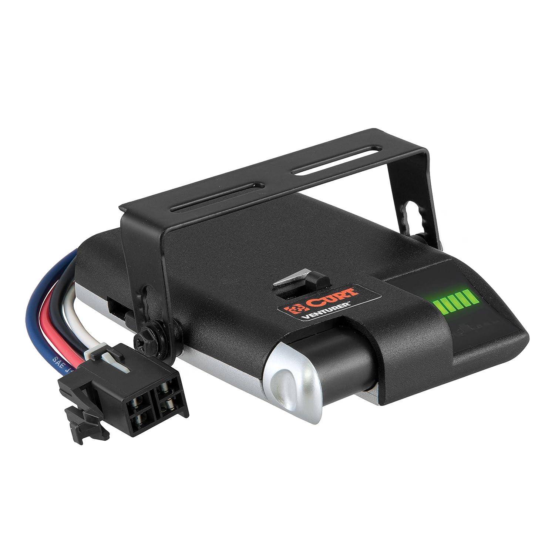 Curt Manufacturing 51110 Brake Control Automotive Trailer Mounted Electronic Controller Wiring