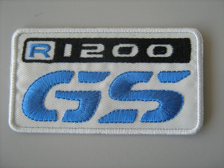 Patch, parche bordado Termoadhesivo,, BMW GS R 1200Callejón Patch Parche Bordado Termoadhesivo cm.9x 5,, Patchmania