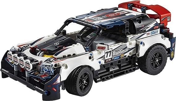 Technic Lego 42109 - App-Controlled Top Gear Rally Car (463 Piezas): Amazon.es: Juguetes y juegos
