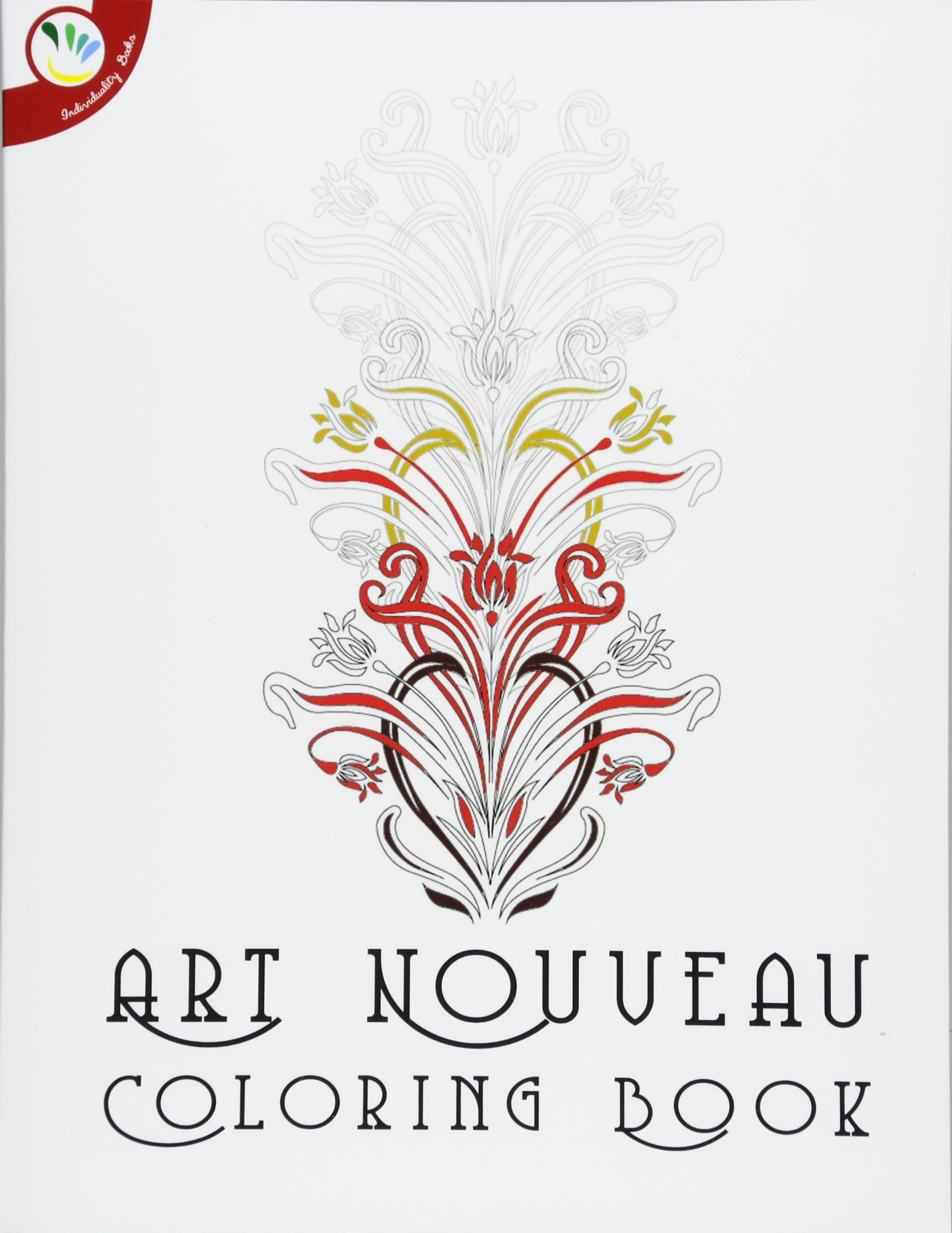 Art Nouveau Coloring Book ebook