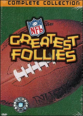Amazon Com Nfl Greatest Follies Complete Collection The