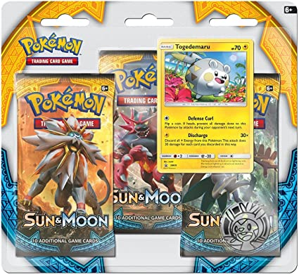 Sun /& Moon Ultra Prism 3 Booster Blister Pack Pokemon TCG