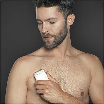 Braun BGK 7050 - Depiladora masculina, kit de depilación corporal ...