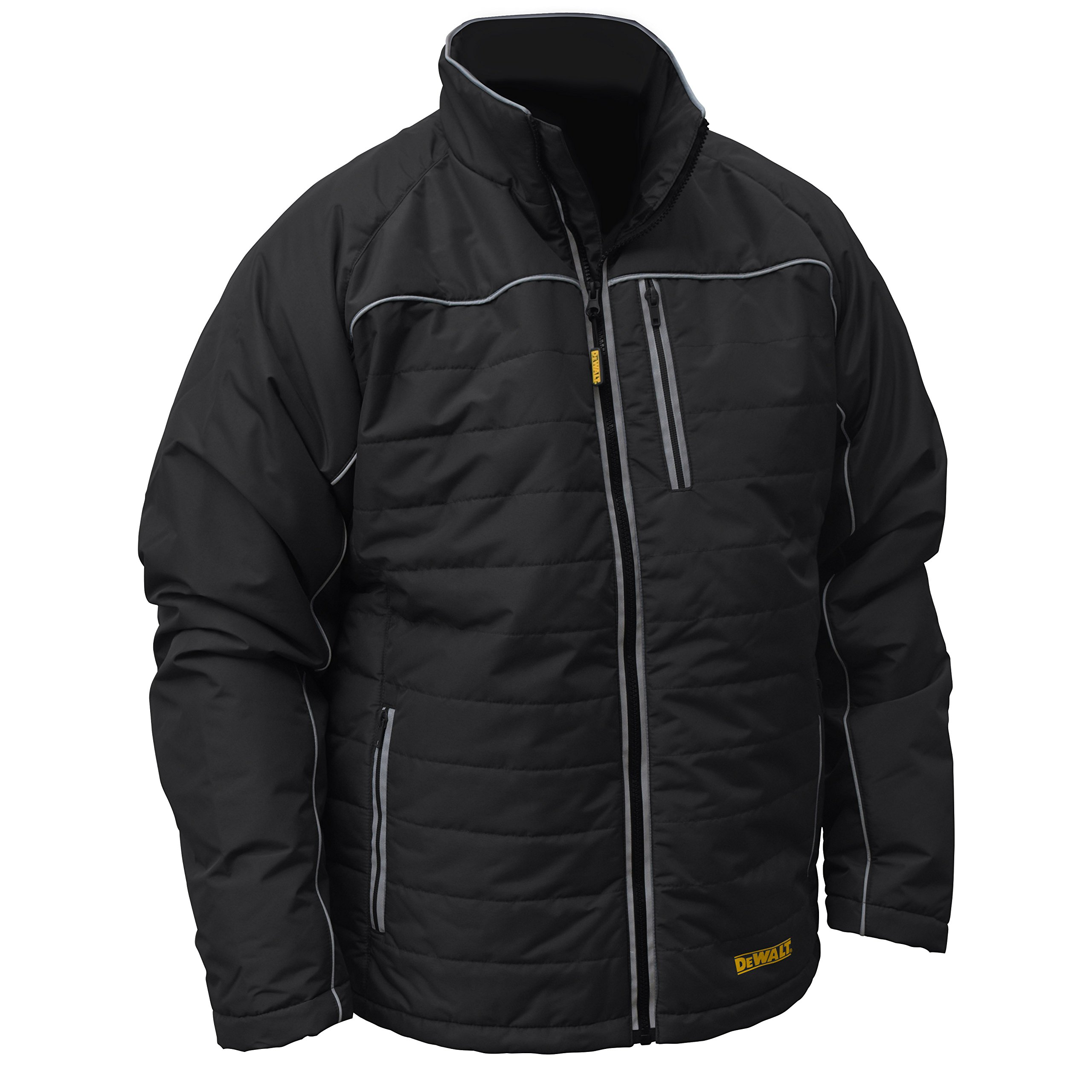 DEWALT DCHJ075B-2X Quilted Heated Work Jacket, 2X-Large, Black