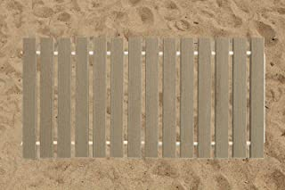 product image for Furniture Barn USA 2 Ft. Wide Roll-up Beach Walkway EverGrain Decking - Cape Cod Gray - 7 Ft. Length