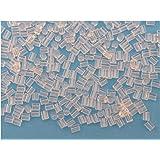 200plastica punte tubolare latch per orecchini–consegna gratuita, Creazione Perla