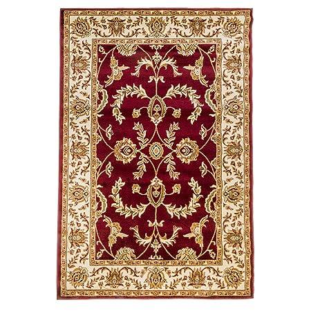 WEBTAPPETI.IT Tappeto Classico Ziegler Rosso Tappeto Economico Salon  716-ROSSO 70X240