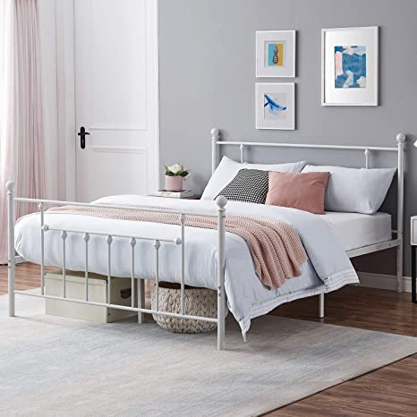 Tips for choosing the best queen size metal platform bed frame with headboard