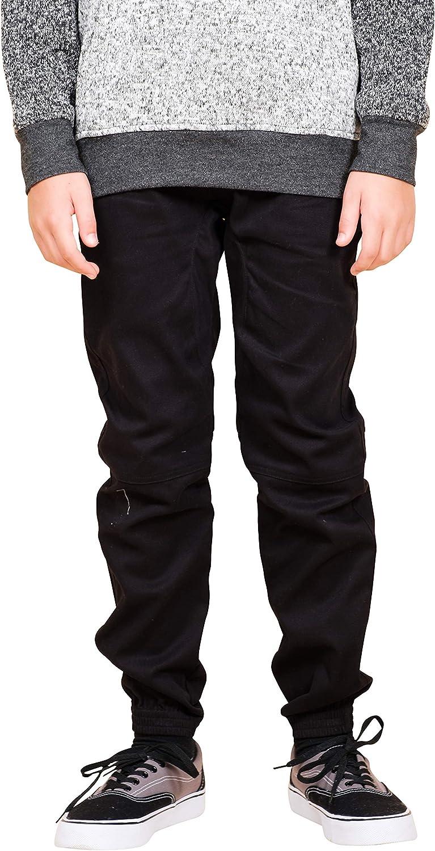 Brooklyn Cloth Jogger Pants Mens Medium Tobacco Speckled Twill Tapered Leg New