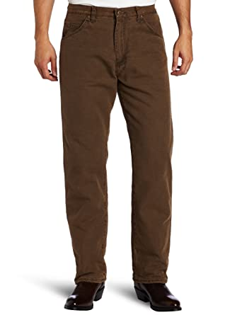 5e2e0786 Wrangler Rugged Wear Men's Woodland Thermal Jean at Amazon Men's ...