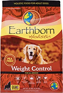 Earthborn Holistic Weight Control Dry Dog Food, 25 lb