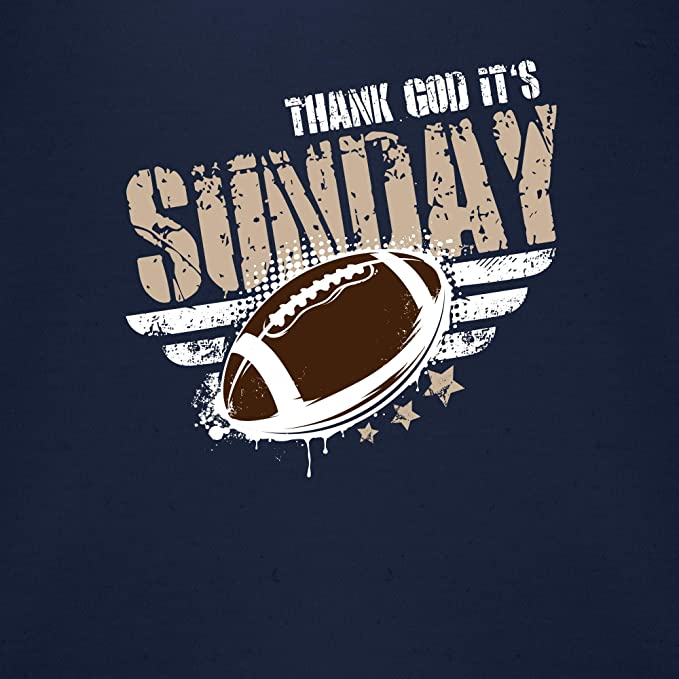 Sport Baby Shirtracer Thank God Its Sunday Football Baby Body Langarm