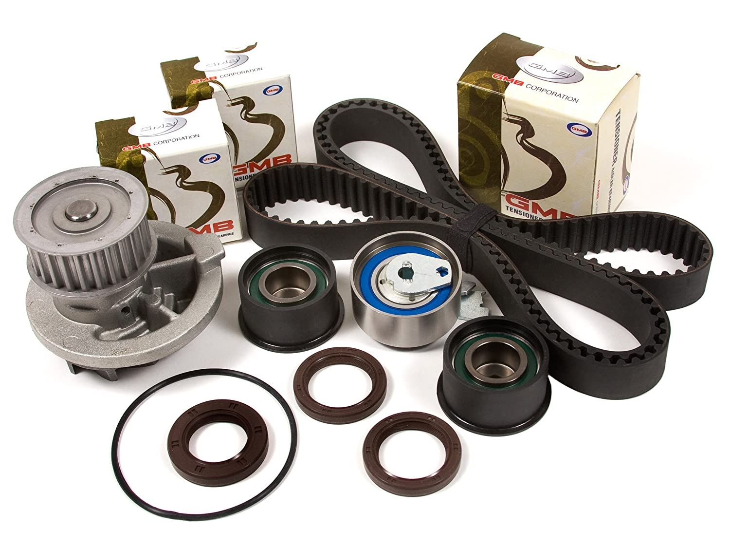 Evergreen Tbk305wpt 99 02 Daewoo Leganza Isuzu Rodeo 1999 Water Pump Amigo 22l X22se Timing Belt Kit Automotive