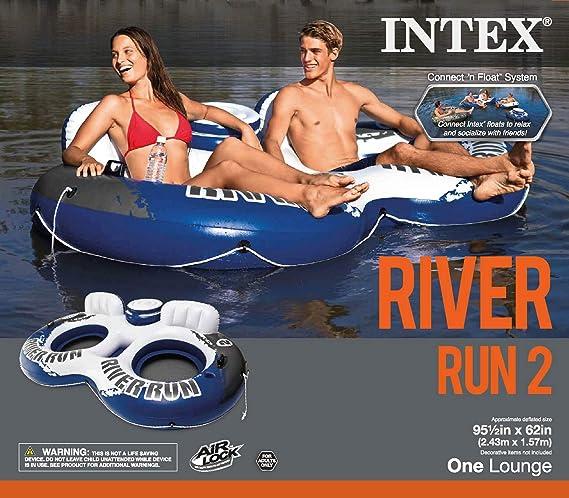 Amazon.com: Intex River Run II 2-person Tubo con enfriador ...