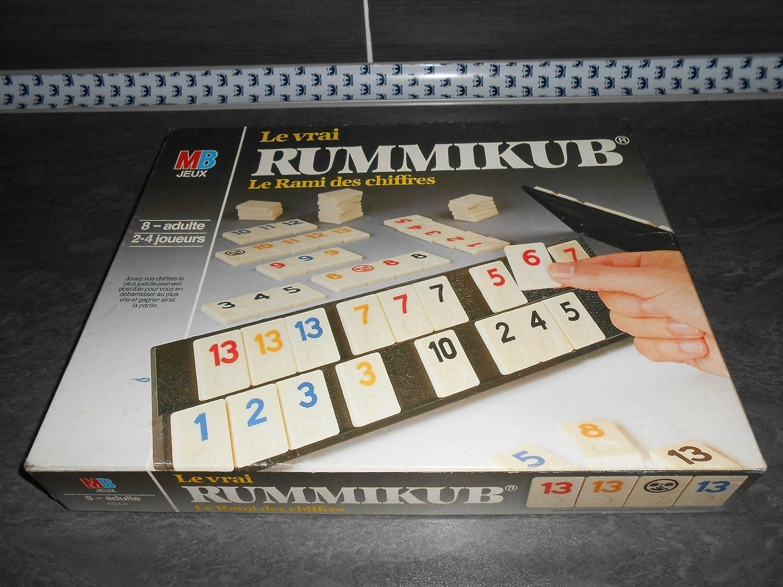 CHEVALET NOIR RUMMIKUB LE RAMI DES CHIFFRES 1986 MB