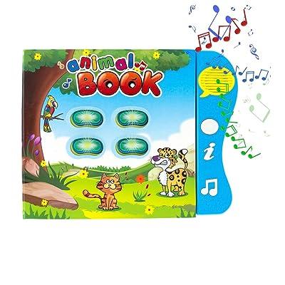 Animal Learning Sound Book by Boxiki Kids
