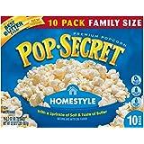 Pop Secret Microwave Popcorn, Homestyle, 10 Count Box (32 Ounces)