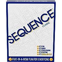 """Jax 8002 Sequence Game, White, 10.3"""" x 8.1"""" x 2.31"""""""