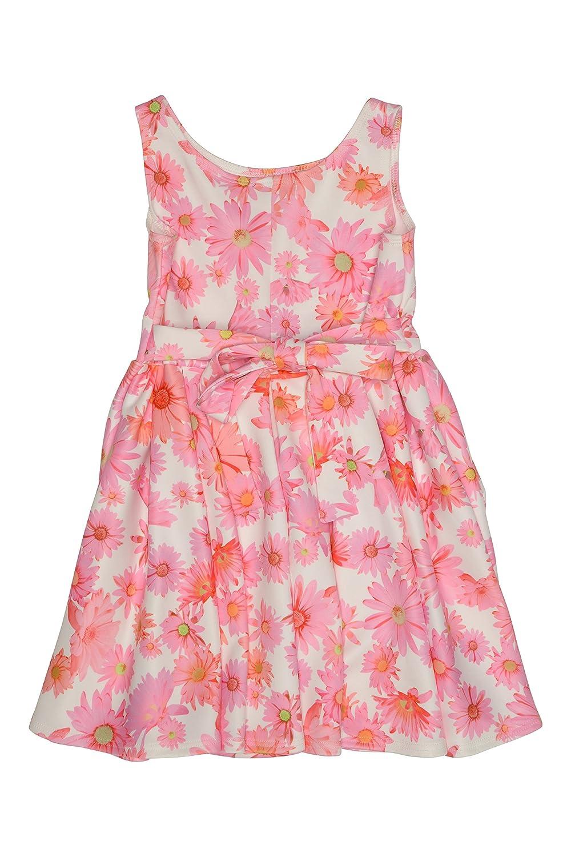 dac9ad3c6c63 Amazon.com  Kate Mack Girl s 2-6X Dottie Daisy Scuba Dress