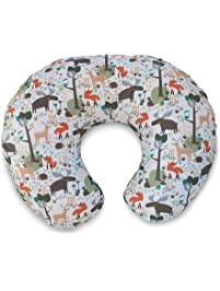 Boppy Original Pillow Cover, Earth Tone Woodland, Cotton Blend Fabric with allover fashion, Fits ALL Boppy Nursing...