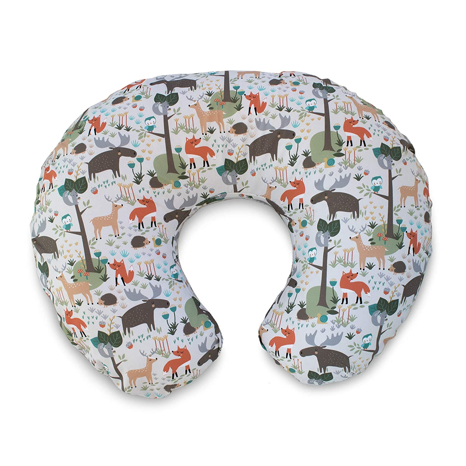 Boppy Cotton Blend Nursing Pillow and Positioner Slipcover, Earth Tone Woodland The Boppy Company 3100489K 6PK