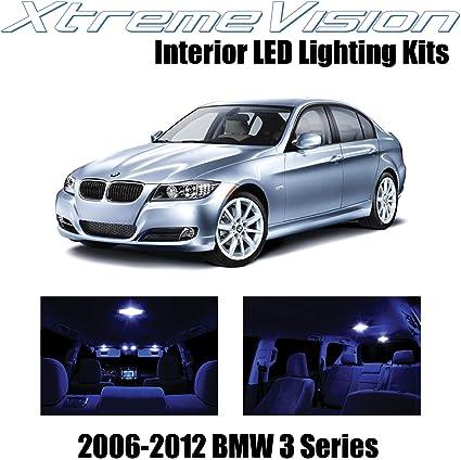 Error Free 16*ice blue LED Interior Light Full Set Kit For BMW E46 M3 1999-2006