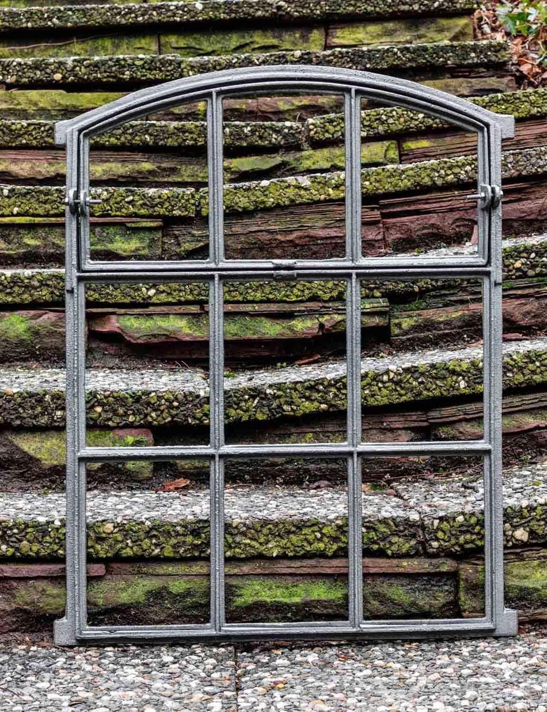 b2 Ventana abrir del granero de hierro estilo antiguo 71cm