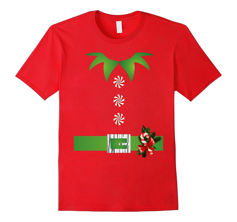 Cute Christmas Santa Helper Elf T Shirts-RT