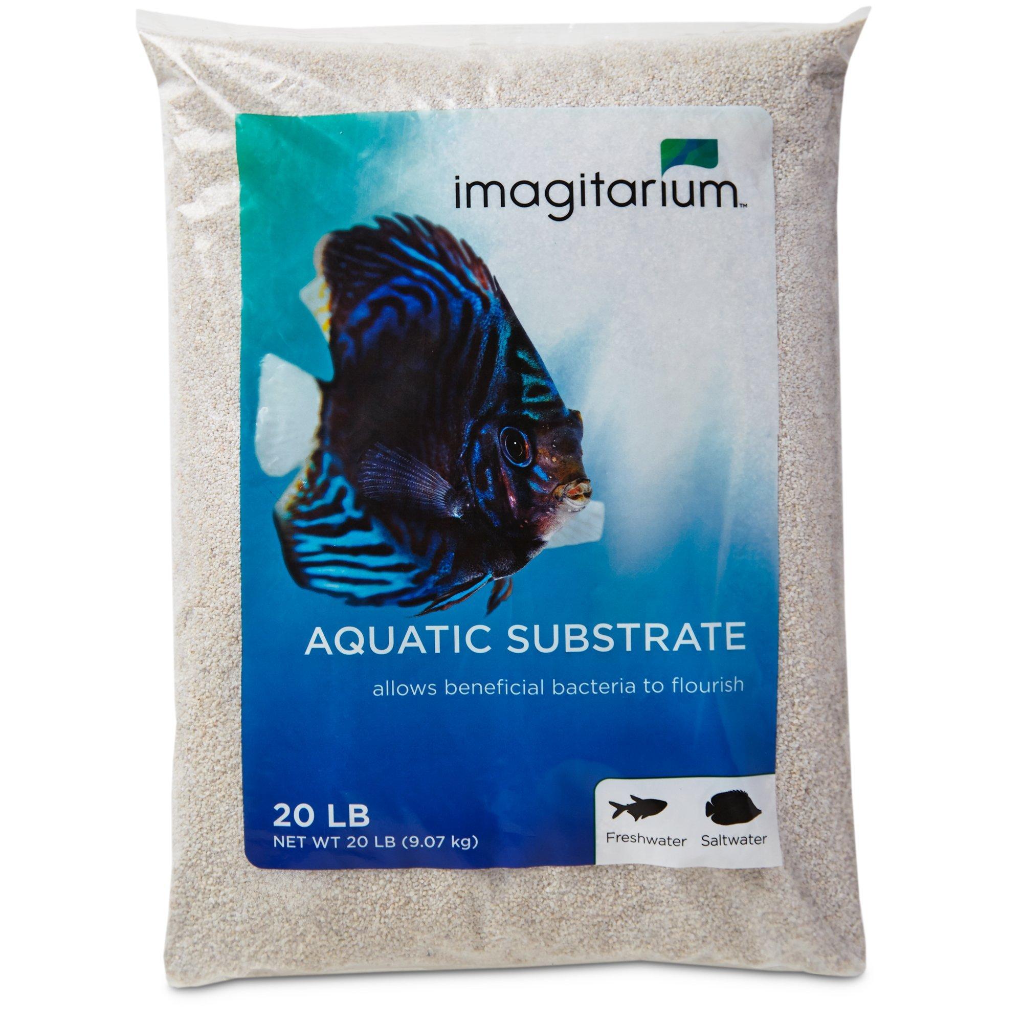 Imagitarium White Aquarium Sand, 20 LBS by Imagitarium