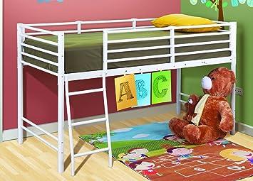 Etagenbett Beni Aufbauanleitung : Kinderbett hochbett sockbett beni mit leiter weiß stabile