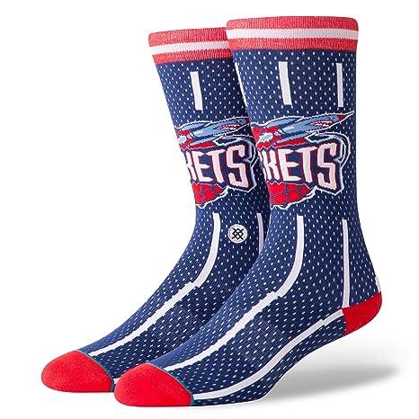 Stance Houston Rockets Yao Ming # 11 Jersey 02 HWC NBA calcetines azul marino, Medium