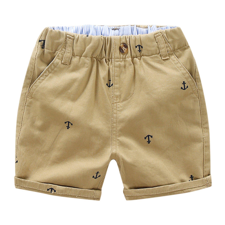 De feuilles CHIC-CHIC Short Bébé Garçon Enfant Shorty Pantalon Court Taille Haute Casual Mignon Souple Chic Mode Eté