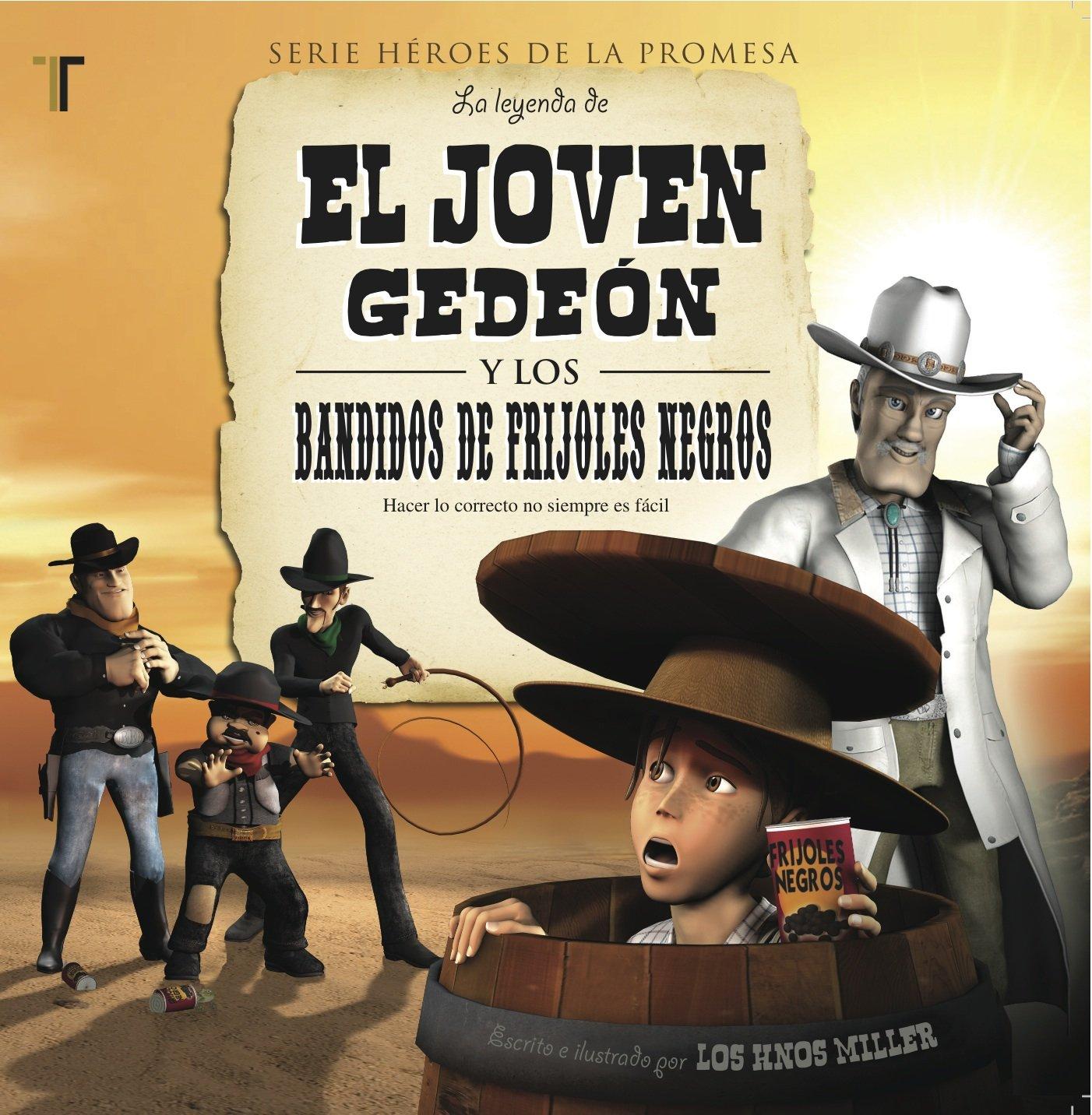 Read Online El joven Gedeon (Gid The Kid) (Spanish Edition) (Heroes de la Promesa) pdf