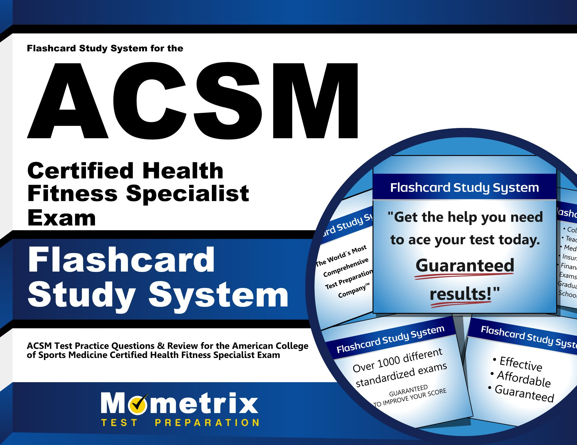 Amazon.in: Buy Flashcard Study System for the Acsm Certified Health Fitness  Specialist Exam: Acsm Test Practice Questions & Review for the American  College ...