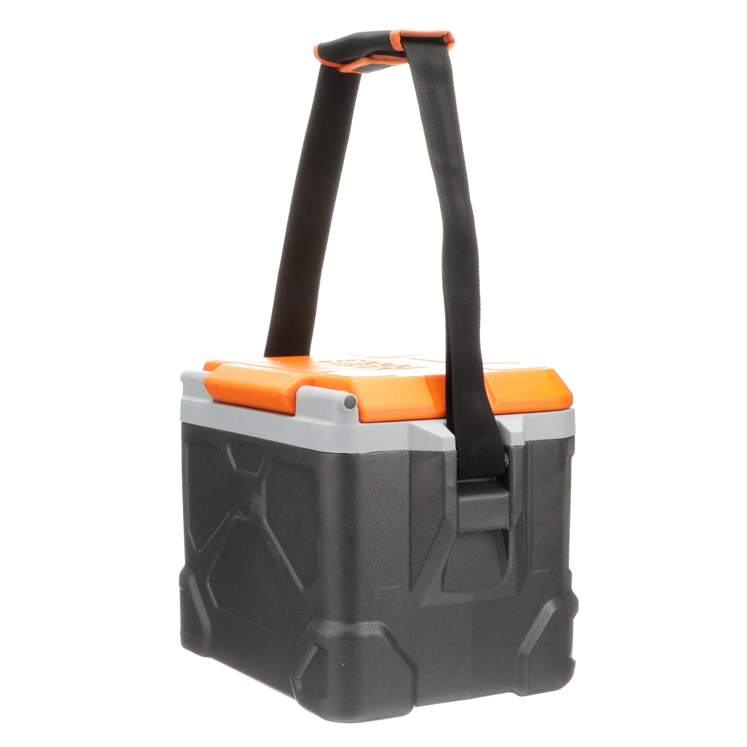 Work Cooler 17-Quart, Keep Cool 30 Hours, Seats 300 Pounds, Tradesman Pro Tough Box Klein Tools 55600 by Klein Tools (Image #8)
