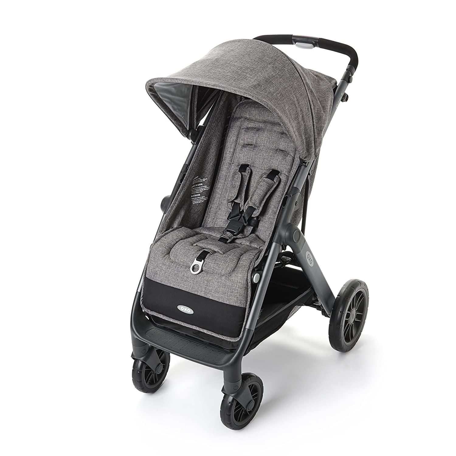OXO Tot Cubby Plus Stroller, Heather Gray