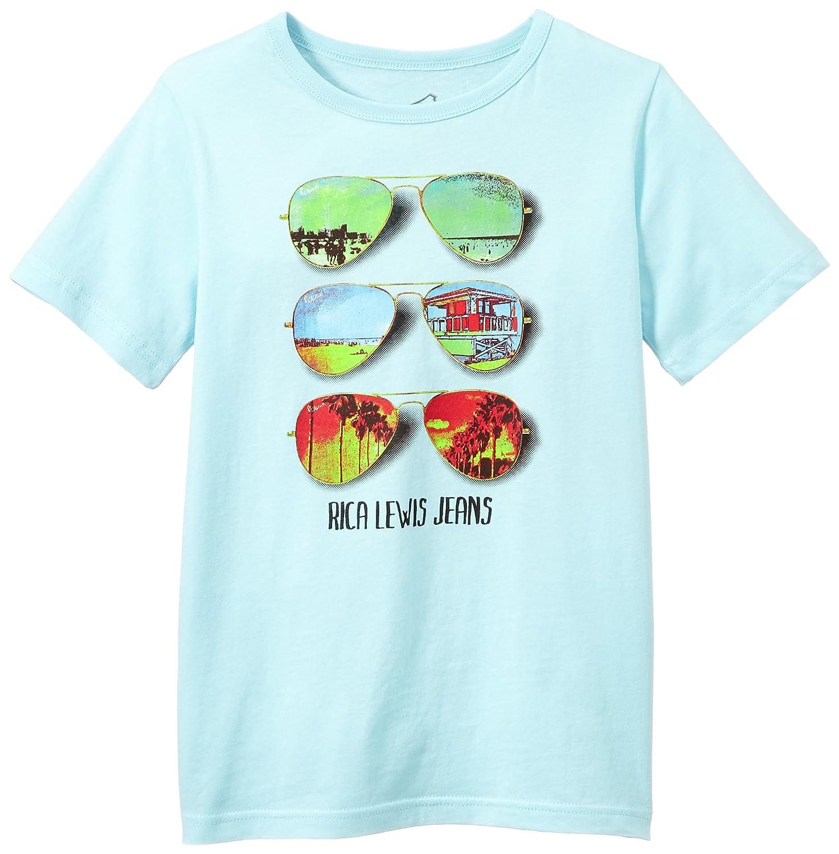 Rica Lewis ENOCK, Camiseta para Niños, Bleu Ciel 6 años (116 cm): Amazon.es: Ropa y accesorios