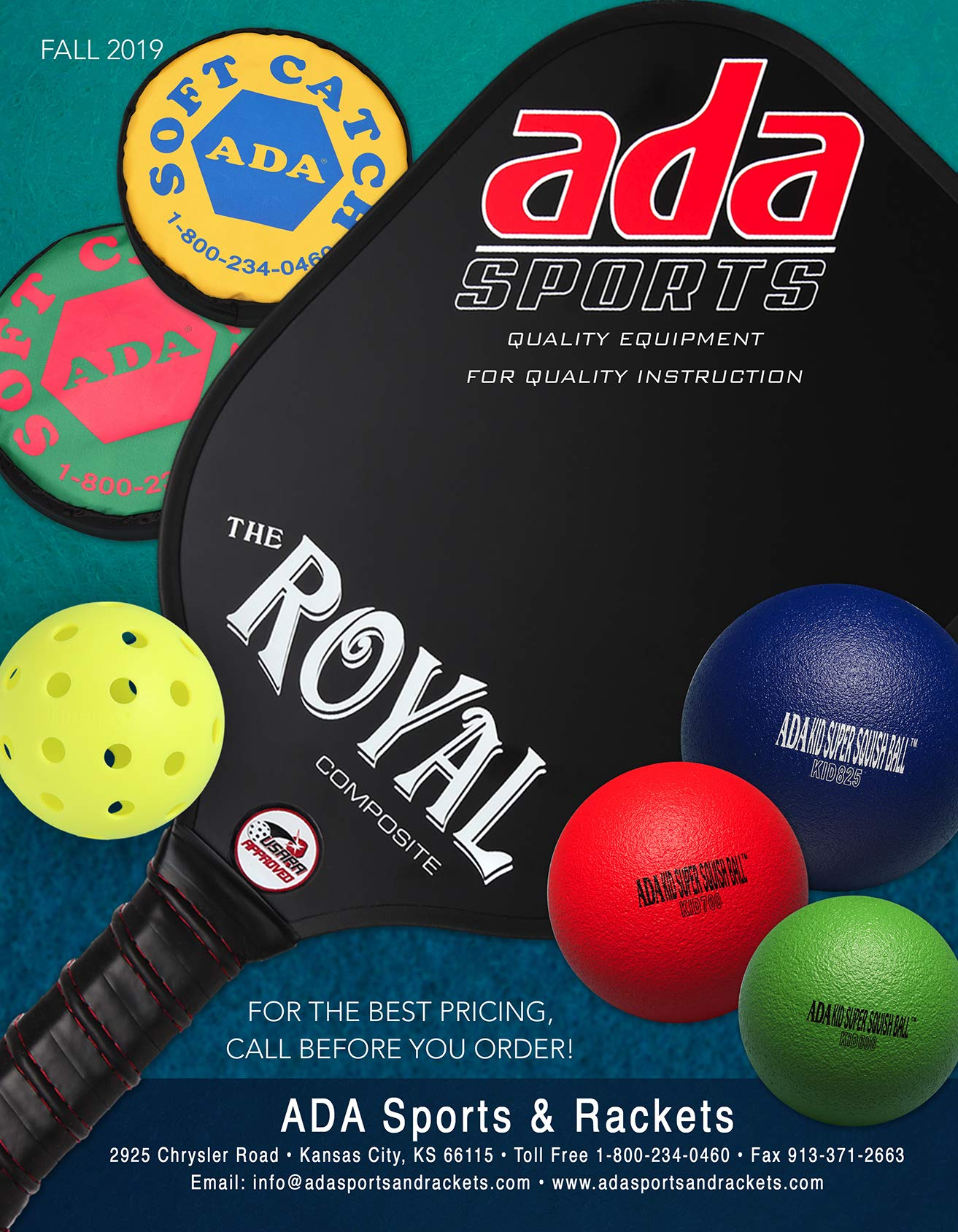 ADA Sports Dodgeball Gym Ball| Kid Super Squish | Multiple Colors and Sizes | Recreation, P.E. Physical Education, Playground, or Party Use | All Ages and Skill Levels Beginner to Advance | Set of 6 by ADA Sports