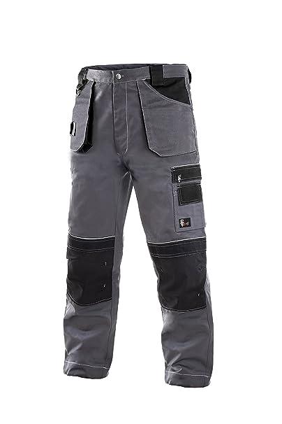 CXS Teodor Pantaloni da lavoro da uomo con ginocchiere - Pantaloni cargo da  giardino molto resistenti  Amazon.it  Abbigliamento bcabccad9b1