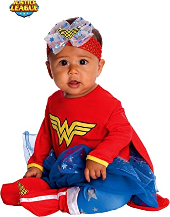 Rubies Disfraz de Wonder Woman DC Super friends para bebé - 6-12 ...